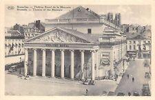Br35102 Bruxelles Theatre Royal de la Monnaie belgium