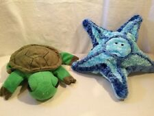 Turtle And Starfish Puppets By Caltoy
