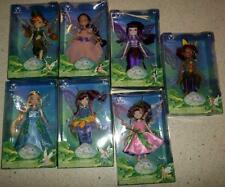 "Disney Fairies Group of 7 Tinkerbell's Friends 10"" Dolls Original Boxes"