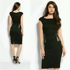 New Guess by Marciano black Claire Pencil Dress size 6