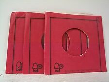 3-BELL RED  RECORD COMPANY 45's SLEEVES  LOT # A-306