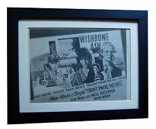 WISHBONE ASH+Front Page News+POSTER+AD+FRAMED+ORIGINAL 1977+EXPRESS GLOBAL SHIP