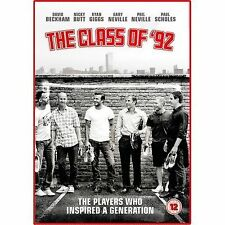 The Class of 92 DVD ( New ) documentary manchester united players