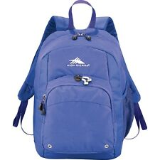 High Sierra Lightweight Simple School Travel Impact Daypack Backpack -Royal Blue