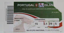 old TICKET EURO 2012 q * Portugal - Iceland in Porto