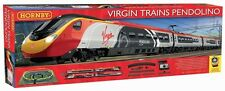 R1155 Hornby Virgin Trains Pendolino Model Electric Train Set OO Gauge New Gift