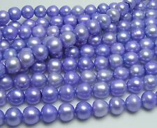 """32"""" FRESHWATER PEARL BEADS 6mm Lavender /FW7"""