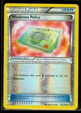 Pokemon WEAKNESS POLICY 142/160 - XY Primal Clash Rev Holo MINT!