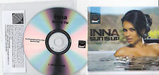 INNA SUN IS UP RARE 1 TRACK PROMO CD