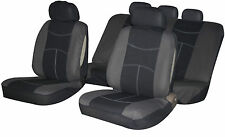 Universal NISSAN Fabric Car Seat Covers with Zips for 60/40 Split Rear Seats