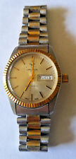 VINTAGE Croton Aquamatic Swiss Mens Steel 35mm Automatic Divers Style Watch
