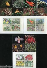 UNITED NATIONS 1996 ENDANGERED SPECIES  SET OF THREE MAXIMUM CARDS