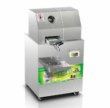 Commercial Sugar Cane juicer, Electric Juice Extractor 300kg/H,Automatic Adjustm