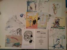 16 carte postale PTT 88 par Cardon Desclozeaux Faizant Kerleroux Tim Poste