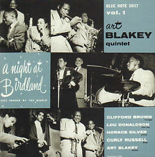 ART BLAKEY QUINTET - A NIGHT AT BIRDLAND VOLUME ONE (2001 BLUE NOTE CD REISSUE)