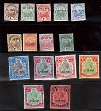 Bermuda #40s - #54s (SG #44s - #51s & #51bs - #55s) VF Mint Complete Set Of 15
