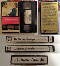 VHS: The Boston Strangler: Magnetic Video: 1968 Tony Curtis George Kennedy