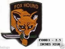 Mini Foxhound Patch for Beret - FXHND3