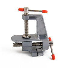Aluminum Mini Jewelers Hobby Table Top Clamp On Table Bench Vise Tool Vice
