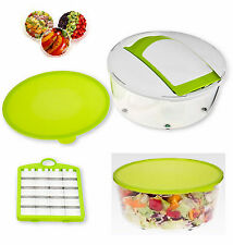 JML Salad Chef Express 4 Piece Cutting, Storing, Transporting & Serving Set BNIB