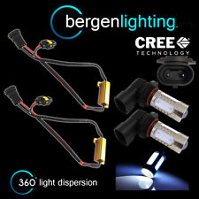 2X HB4 9006 WHITE CREE LED FRONT MAIN HIGH BEAM LIGHT BULBS KIT XENON MB502001