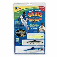 """Almost Alive Lures Bama Rig Gray//Wht Lure Bag w// 4/"""" Hooked Rainfish"""