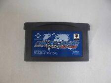 GBA -- World Advance Soccer -- Can data save! Game Boy Advance, JAPAN. 36090