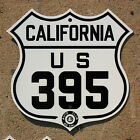 California ACSC US route 395 highway road sign auto club AAA Sierras Mammoth