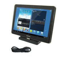 Dock Wall Charger Stand +USB Cable For Samsung Galaxy Tab 2 Note 10.1 N8000 *TME