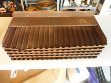 RARE VINTAGE CLARK'S SEWING & THREAD SELECT A COLOR METAL GENERAL STORE DISPLAY