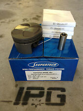 Supertech Forged Pistons Toyota 4AGE 16v 81.5mm Bore 11.0:1 Compression 18mm Pin