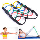 Resistance Training Bands Elastic Yoga Bands 8-Type Tube Fitness Equipment Tool