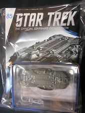 "STAR TREK STARSHIPS COLLECTION #85 ""FEDERATION HOLOSHIP"" (EAGLEMOSS) NEW."