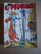 IL MONELLO n°10 1960  [G394B]  con fumetto Forza John