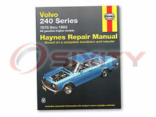 Volvo 240 Haynes Repair Manual Base DL SE Shop Service Garage Book vo