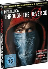 Metallica Through The Never-Dolby Atmos 3d BLU-RAY NUOVO