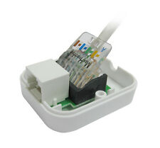 RJ45 Gigabit Ethernet Extension Socket-CAT5e / CAT6 SENZA UTENSILI terminali IDC-BT