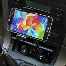 USB Car Charger Holder Mount With Cigarette Lighter Chargers for Cell Phone