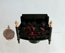 Dollhouse Miniature Battery Operated Fireplace Insert