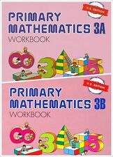 Singapore Primary Math 2 Workbooks 3A and 3B US ED - FREE Expedited SHIPPING