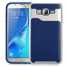 Duo Layer Shockproof Slim Wave Line Cover+PC Bumper Case for Samsung Models