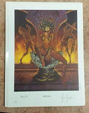 """""""Medusa"""" Art Print Joe Jusko 1999 Signed Numbered"""