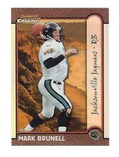 MARK BRUNELL 1999 Bowman Chrome Football *INTERNATIONAL REFRACTOR*  006/100