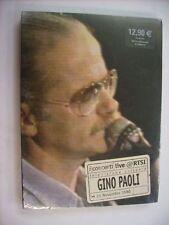 GINO PAOLI - LIVE RTSI - DVD SIGILLATO - PAL