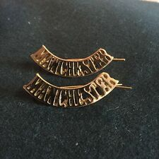 WW1 British army shoulder titles Manchester -  reproduction