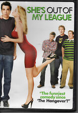 """MAKE OFFER FREE SHIP """"She's Out of My League"""" DVD Alice Eve raunch romcom"""