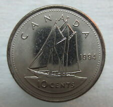 1994 CANADA 10¢ BRILLIANT UNCIRCULATED DIME