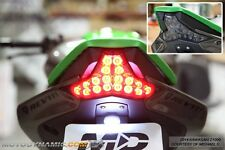 2014-2016 Kawasaki Z1000 16-17 ZX10R SEQUENTIAL Signals LED Tail Light SMOKED