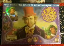 Willy Wonka and the Chocolate Factory (Blu-ray Disc, 2011, 3-Disc Set, 40th Ann…