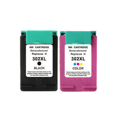 2 NON-OEM inks alternative for hp DeskJet 3630 3632 3633 3634 302XL